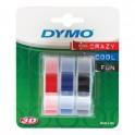 DYMO ETYKIETA 3D  9x3m 3ROLKI DO WYTL.MIX     S0847750