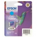 Tusz  Epson  T0802  doStylus Photo  R-265/285/360 RX560  | 7,4ml | cyan