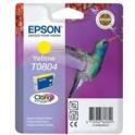 Tusz  Epson  T0804 do Stylus  Photo R-265/285/360 RX560  | 7,4ml | yellow