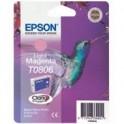 Tusz Epson T0806  do Stylus  Photo R-265/285/360 RX560  | 7,4ml | light magenta