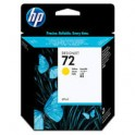 Tusz HP 72 Vivera do Designjet T610/1100/1200/1300 | 69ml | yellow