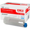 Toner Oki do C-5850/5950, MC560 | 6 000 str. | cyan