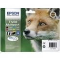 Zestaw tuszu Epson T1285 do  StylusS22, SX-125/130/230/235W/420W | 16,4ml | CMYK
