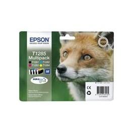 Zestaw tuszu Epson T1285 do  StylusS22, SX-125/130/230/235W/420W   16,4ml   CMYK