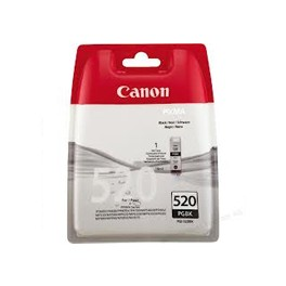 Tusz Canon  PGI520BK do  iP-3600/4600, MP-550/620/630/980 | 19ml | black