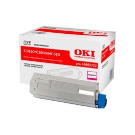 Toner Oki do C-5850/5950, MC560   6 000 str.   magenta