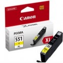 Tusz  Canon  CLI551YXL  do iP-7250, MG-5450/6350 | 11ml |   yellow