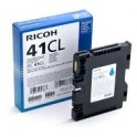 Tusz Ricoh do SG2100N/3110DN/3110DNW GC 41CL | 600 str. | cyan