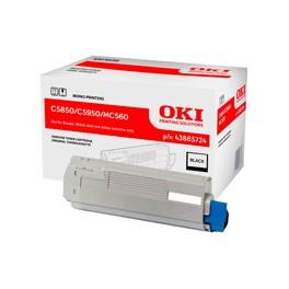 Toner Oki do C-5850/5950, MC560 | 8 000 str. | black