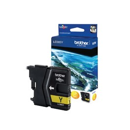 Tusz Brother do DCPJ125/315W/515W/220/265W/410/415w | 260 str. | yellow