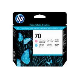 Głowica HP 70 do Photosmart B8850, Designjet Z2100   light cyan + light magenta