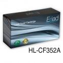 toner HP 130A [CF352A] yellow zamiennik 100% nowy