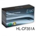 toner HP 130A [CF351A] cyan zamiennik 100% nowy