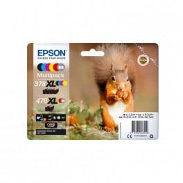Zestaw tuszy Epson 6w1 478XL  Multipack Claria Photo HD CMYK+ G