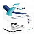 Tusz Tiom do Brother 123M | LC123M | 600 str. | magenta