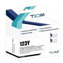 Tusz Tiom do Brother 123Y | LC123Y | 600 str. | yellow