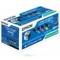 Epson Toner AcuLaser C1100 S050268 CMYK  4pack, Bk - 4K + 3x 1,5K