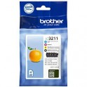Brother Tusz  LC3211VAL CMYK 4pack 4 x 200ml