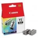 Canon Tusz BCI-15 Black 2 x 5.3 ml
